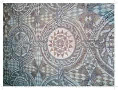 Mozaika geometryczna; muzeum w Tetuan