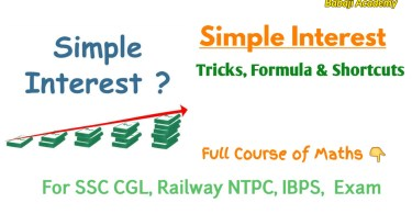 Simple Interest Formulas: Short Tricks and Questions