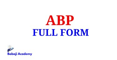 ABP Full Form, Full Form of ABP, ABP Meaning in English