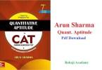 Arun Sharma Quantitative Aptitude Pdf Download: Quantitative Aptitude by Arun Sharma