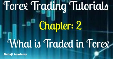 What is traded in Forex? What is Trading on the Forex Market