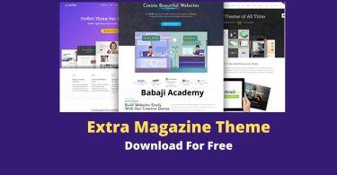 Extra Theme Free Download v.4.9.4 – Extra Magazine WordPress Theme