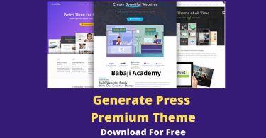 GeneratePress Premium Theme Latest Version Free Download
