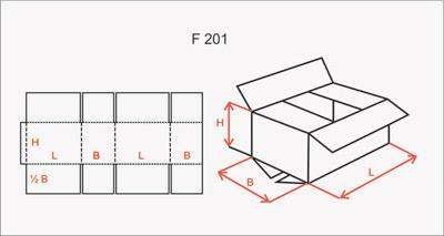 RSC carton box