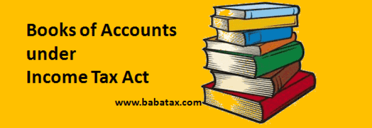 books of accounts section 44aa of income tax
