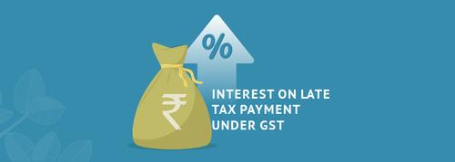 interest on net gst liability
