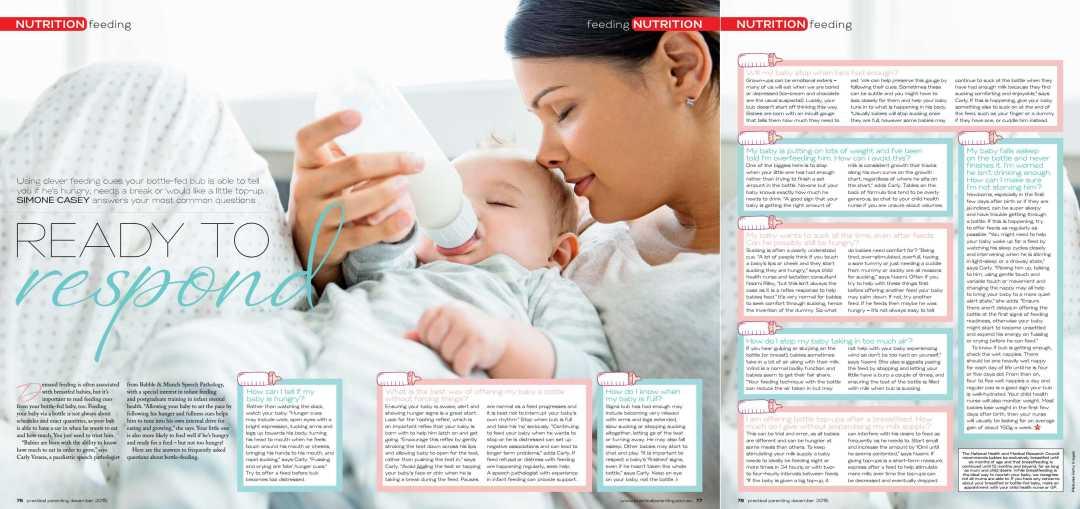 Ready to Respond - Practical Parenting Dec 2015