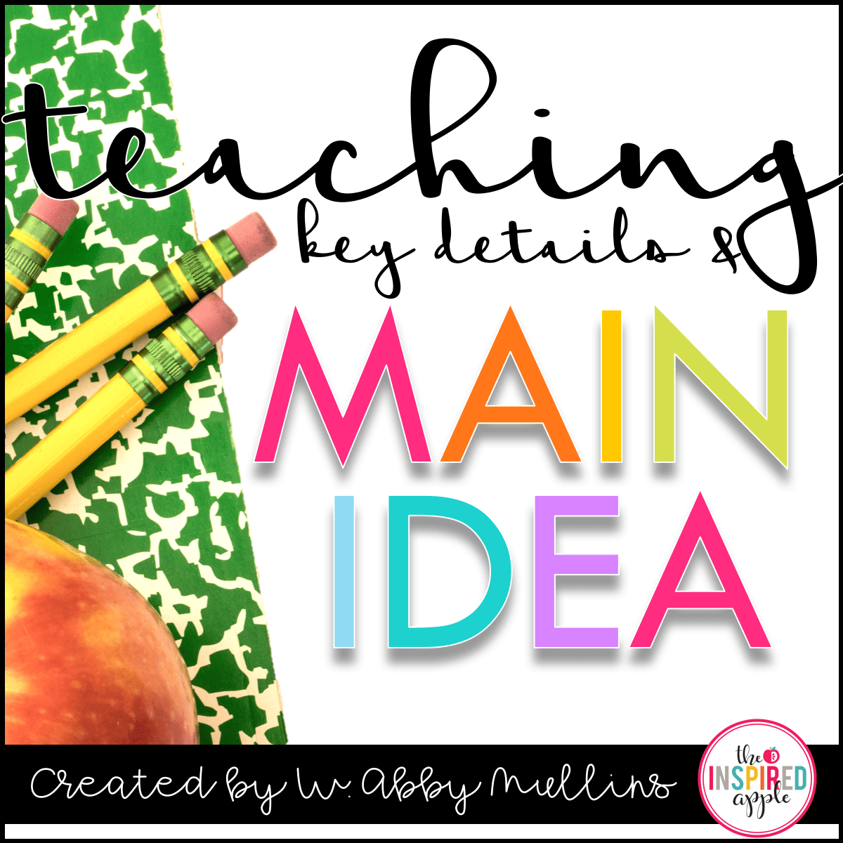 Teaching Key Details And Main Idea Has Never Been Easier