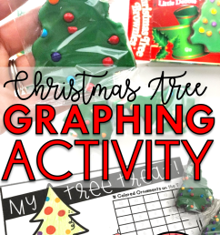 Christmas Graphing Activity for Kids - Babbling Abby [ 2133 x 1200 Pixel ]