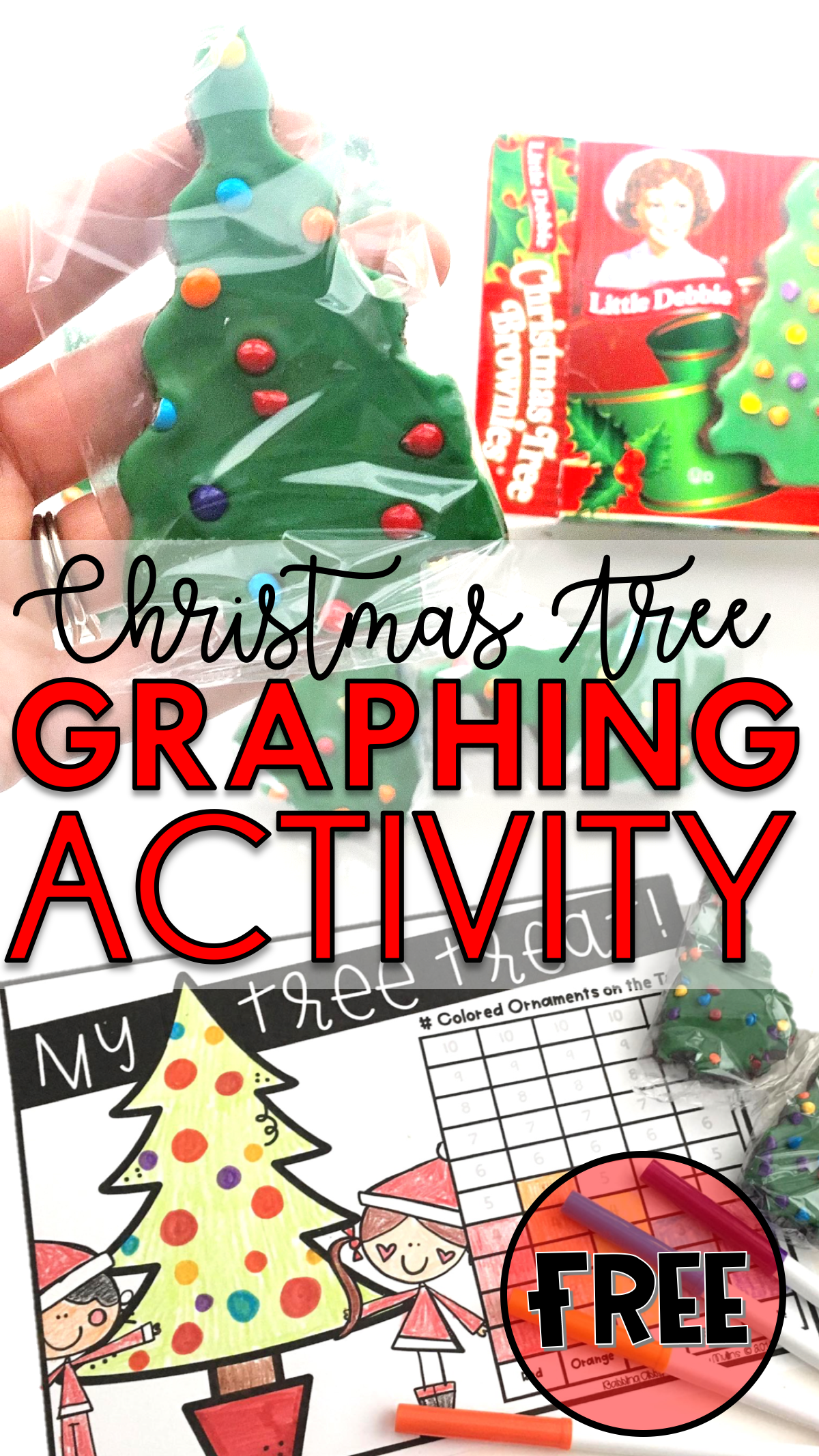 hight resolution of Christmas Graphing Activity for Kids - Babbling Abby