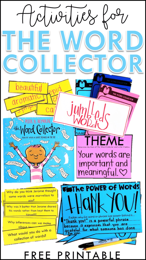 small resolution of The Word Collector Activities - Babbling Abby %