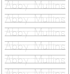 How to Make a Handwriting Worksheet - Babbling Abby [ 1024 x 795 Pixel ]