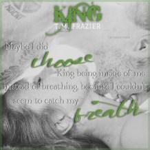 King Teaser #7 - #RentasticReads #BabblingChatterReads
