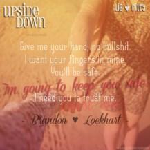 Upside Down Teaser #3 - #RentasticReads #BabblingChatterReads