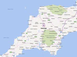 Hatherleigh Map