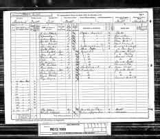 1891 England Census - Walter Thomas Babb
