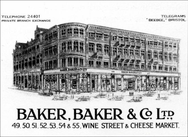 Baker, Baker & Co, Bristol, England