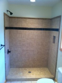 Tile Shower installation in Ellijay GA- Blueridge ...