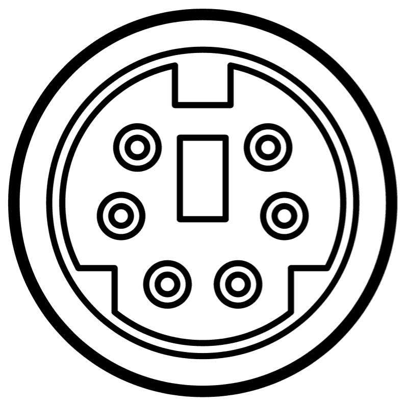 6 pin mini din plug wiring diagram