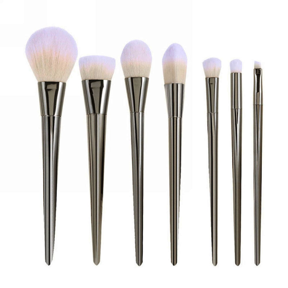 7pcs Makeup Brushes Set Powder Foundation Eyeshadow Eyeliner Lip Brush Tool