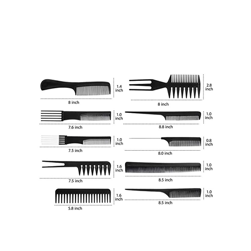 stylist anti static hairdressing combs m main 2