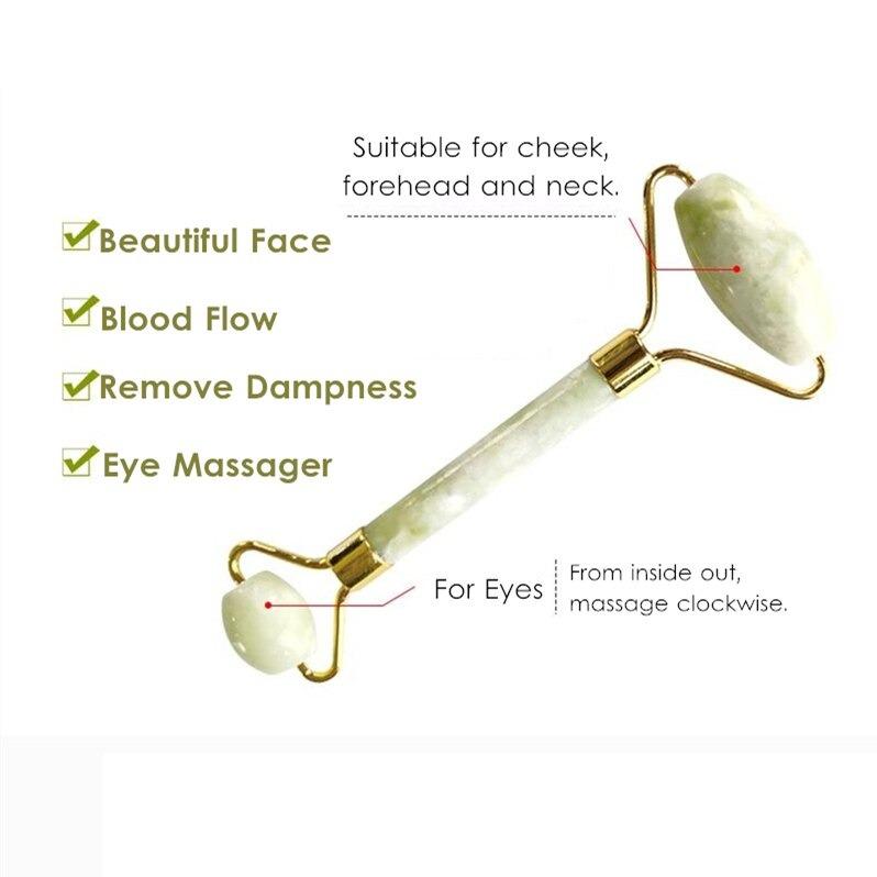 jade roller facial massager face skin ma main 1