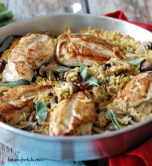 Baked Chicken and Orzo
