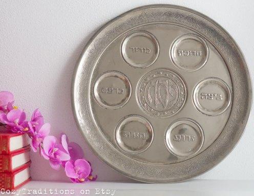 Large Seder Plate