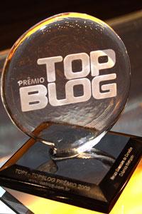 Troféu TOP BLOG: Babel das Artes 1º lugar na categoria Cultura