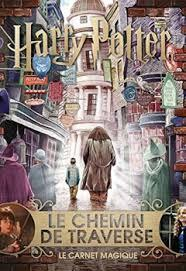 Harry Potter Chemin De Traverse : harry, potter, chemin, traverse, Harry, Potter, Carnet, Magique, Chemin, Traverse, Babelio