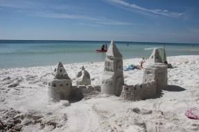Sandcastle birthday....