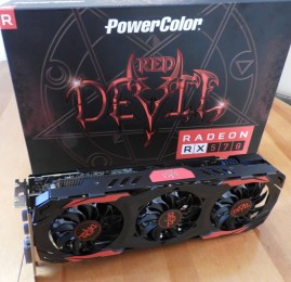 The PowerColor Red Devil RX 570 4GB arrives vs. the GTX 1060 3GB
