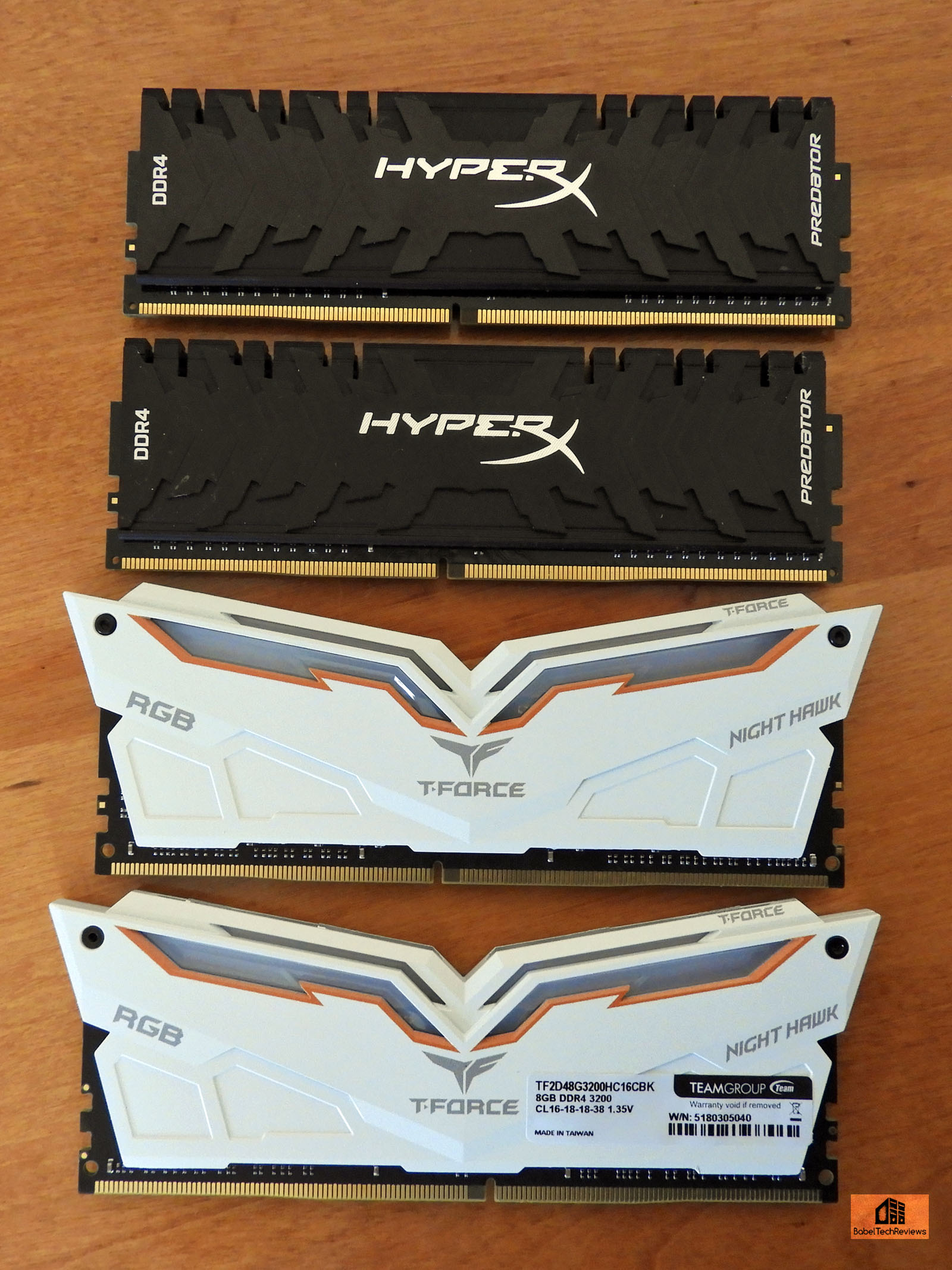 Team Group Night Hawk DDR 3200 MHz 16 GB kit review