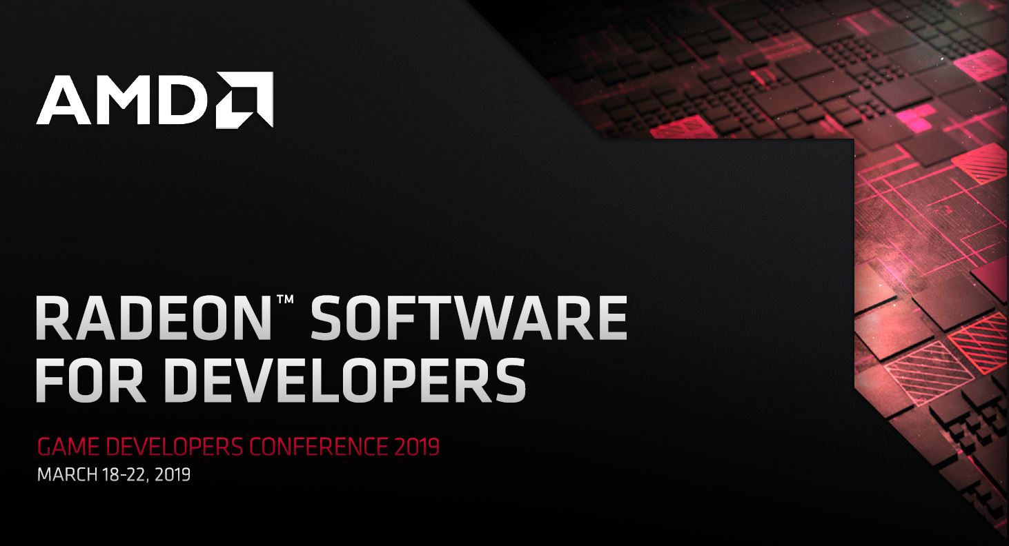 AMD News from GDC 2019