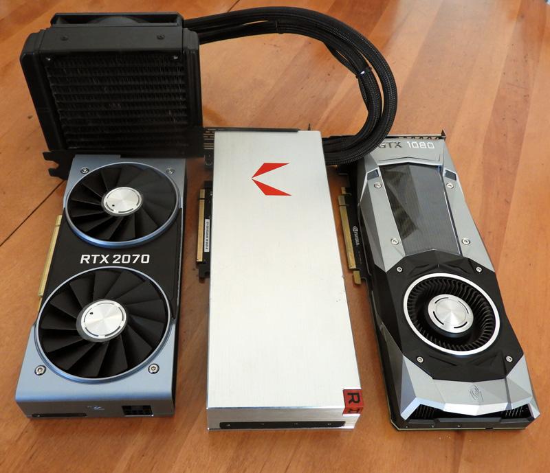 VR Wars: the RTX 2070 vs  the GTX 1080 vs  the Vega 64
