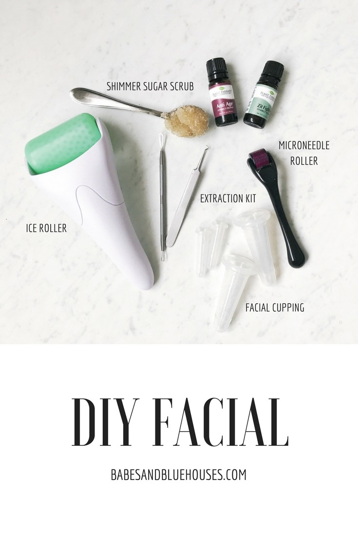 8 STEP AT HOME FACIAL