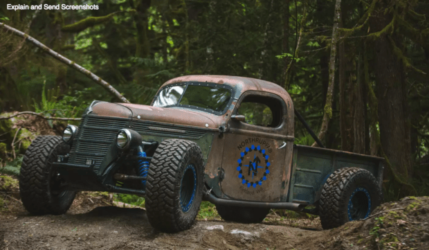 This Rat Rod 4x4 Is Awesome! [video]  Babes, Bikes, Rods
