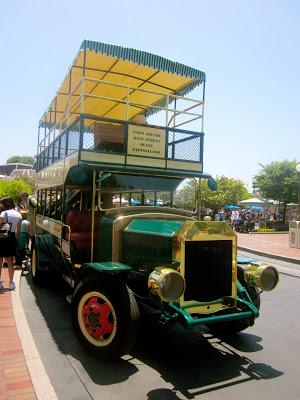 Take a ride aboard the Disneyland Omnibus