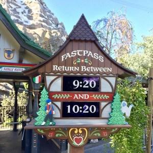 Matterhorn Fastpass