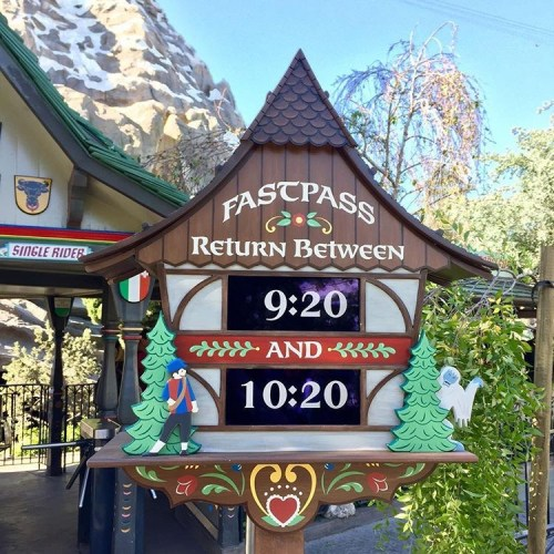Matterhorn FASTPASS - Reasons to Visit Disneyland Summer 2017