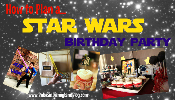 How to Throw a Star Wars Birthday Party!
