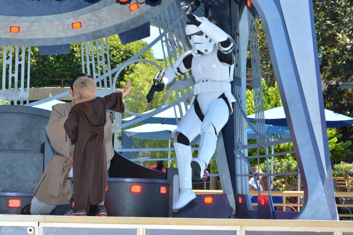 jedi training academy at Disneyland