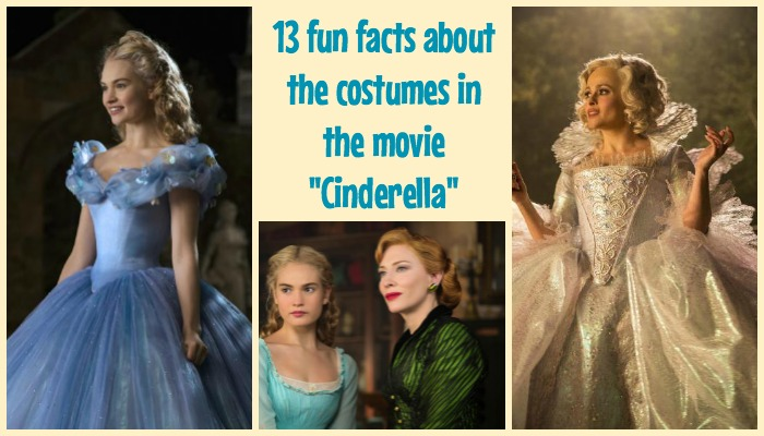 13 fun facts and secrets about the costumes worn in the movie Cinderella
