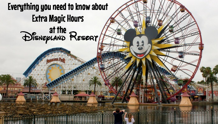 Everything you need to know about Extra Magic Hours at the Disneyland Resort.