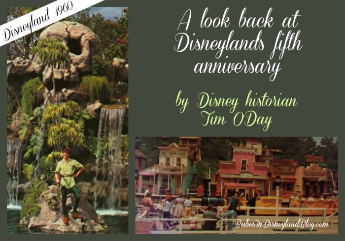 A look back at Disneyland's fifth anniversary