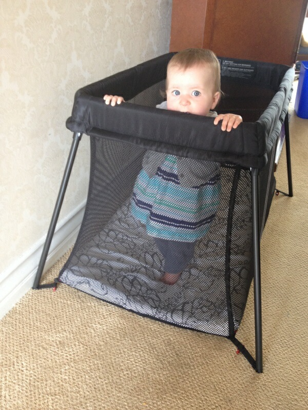 Baby Bjorn Travel Crib Light Review & Giveaway