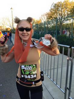 The number one reason to run the Star Wars half marathon.