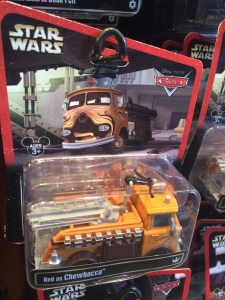 Star Wars/Cars  Red/Chewbacca