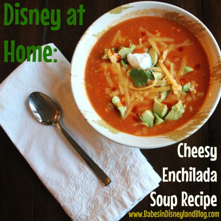 Cheesy Enchilada Soup