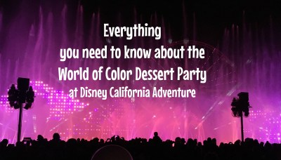 Everything you need to know about the World of Color ...